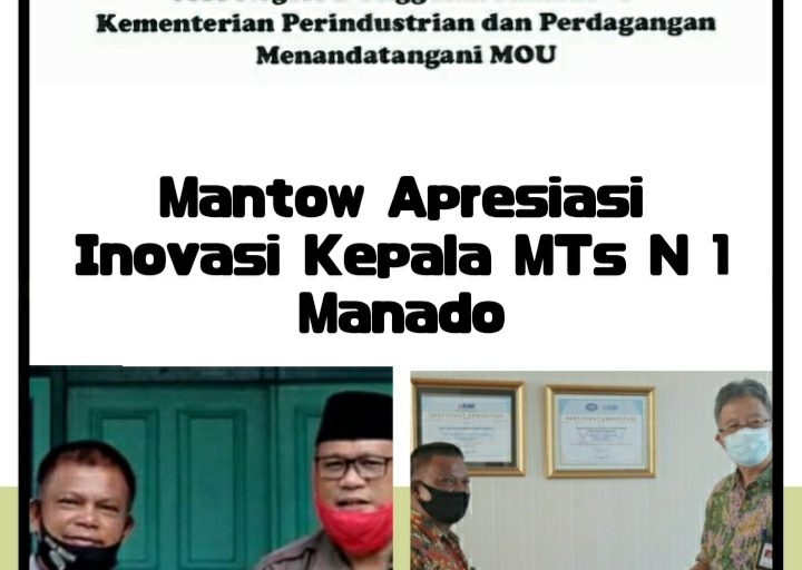 Kasi Pendis Apresiasi Inovasi Kepala MTSN Manado