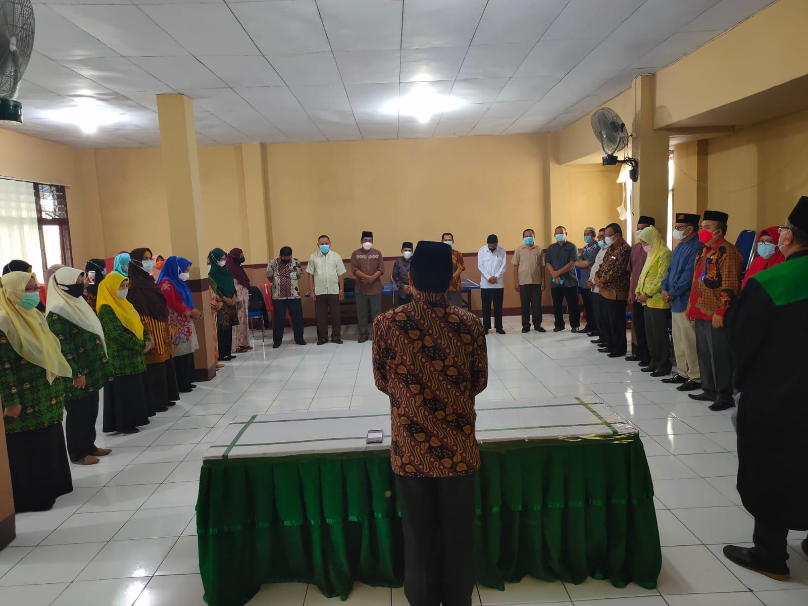 Mantow Gagas Doa Bersama jajaran Pendis Manado